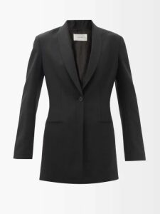 Joseph - Magnus Single Breasted Wool Blend Coat - Womens - Camel