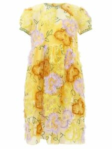 Burberry - Theydon Double Breasted Wool Coat - Womens - Grey Multi