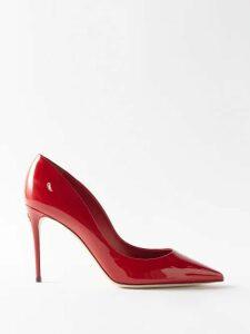 La Fetiche - Goude Reversible Quilted Coat - Womens - Black Multi