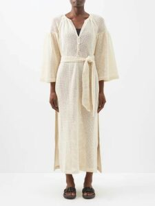 Max Mara Studio - Turku Coat - Womens - Cream Navy