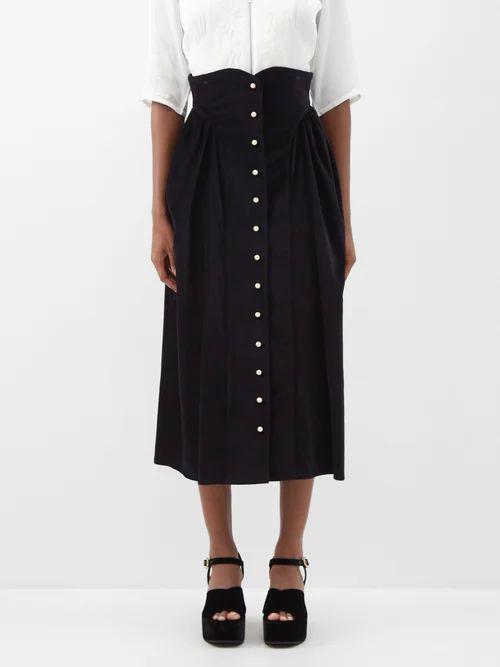 S Max Mara - Dada Coat - Womens - Light Blue