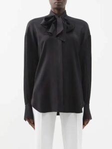 Loewe - X Charles Rennie Mackintosh Mohair Blend Coat - Womens - Brown