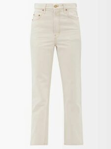 Altuzarra - Agrippina Checked Belted Wool Blend Coat - Womens - Black White