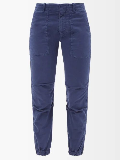 Altuzarra - Marina Single Breasted Leather Coat - Womens - Black