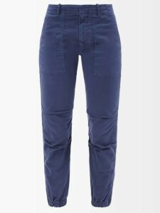 Altuzarra - Marina Single Breasted Leather Coat - Womens - Black