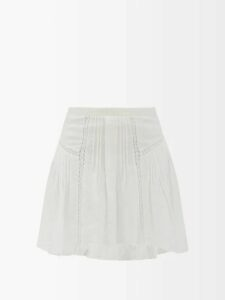 Mm6 Maison Margiela - Neck Tie Twill Shirt - Womens - Black