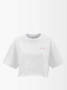 Erdem - Karissa Floral Print Silk Satin Gown - Womens - White Multi