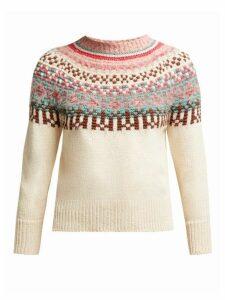Weekend Max Mara - Talpa Sweater - Womens - Cream Multi