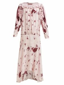 Preen Line - Sora Floral-print Dress - Womens - Pink Multi