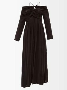M.i.h Jeans - Lyra Floral Print Cotton Dress - Womens - Navy Print
