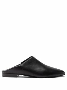 Anna October - Pintuck Gathered Sleeve Tie Waist Dress - Womens - Red