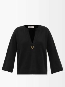 Vita Kin - Magnolia Embroidered Linen Dress - Womens - Blue