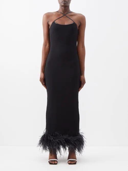 Etro - Midburn Tiered Silk Crepe Maxi Skirt - Womens - Pink Multi