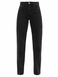 Rochas - High Rise Duchess Satin Midi Skirt - Womens - Green