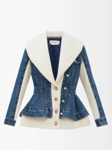 Msgm - Fruit Print Pleated Crepe Midi Skirt - Womens - Multi