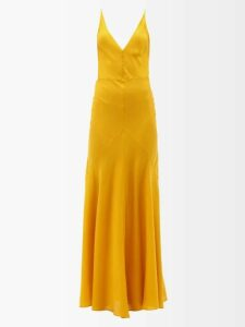 Marni - Puffed Floral Jacquard Midi Skirt - Womens - Pink White