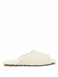 Marni - Avery Floral Print Midi Skirt - Womens - Brown White