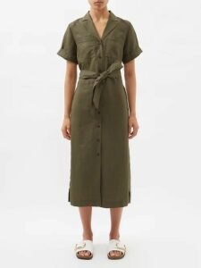 Dolce & Gabbana - Floral Lace Pencil Skirt - Womens - Black