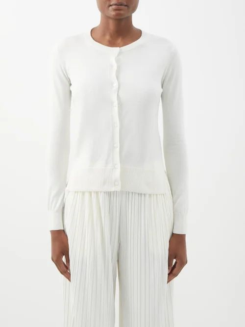 Paco Rabanne - Black Crochet Skirt - Womens - Black