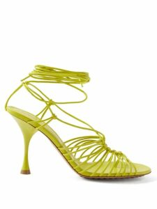 Msgm - Belted Leopard Sequinned Dress - Womens - Black Gold