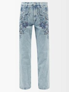 Altuzarra - Rosmarino Silk Georgette Midi Dress - Womens - Black