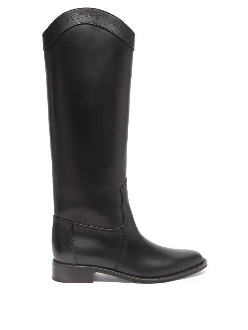 Burberry - Kington Hooded Quilted Down Coat - Womens - Navy