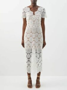 Dolce & Gabbana - Leopard Print Sequinned High Rise Pencil Skirt - Womens - Leopard