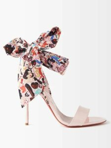 Raey - 1970s Shearling Coat - Womens - Light Pink