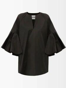 Halpern - Draped Sequinned Mini Skirt - Womens - Pink