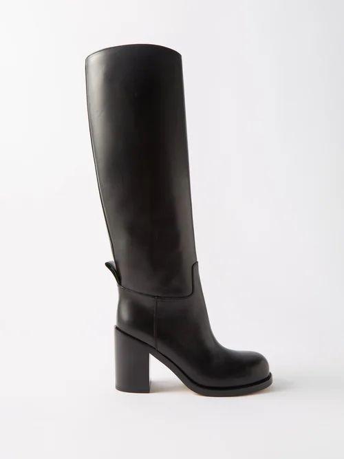 Carl Kapp - Frill Trim Tweed Blazer - Womens - Grey Multi