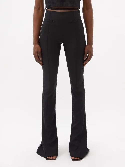 Gucci - Single Breasted Geometric Tweed Jacket - Womens - Red Multi