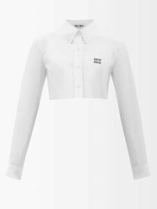 Alexander Mcqueen - Single Breasted Wool Blend Blazer - Womens - Ivory