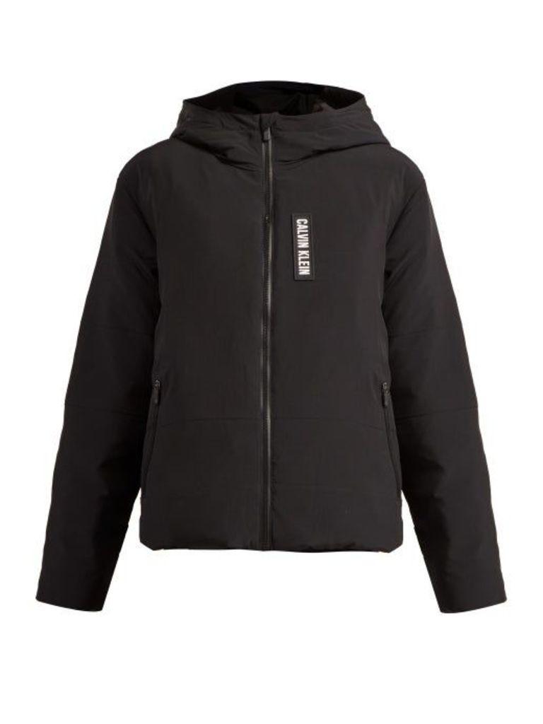 Calvin Klein Performance - Padded Down Filled Zip Through Jacket - Womens - Black