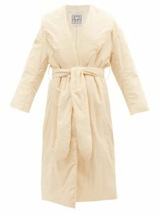 The Upside - Twill-panelled Cotton Sweatshirt - Womens - Khaki