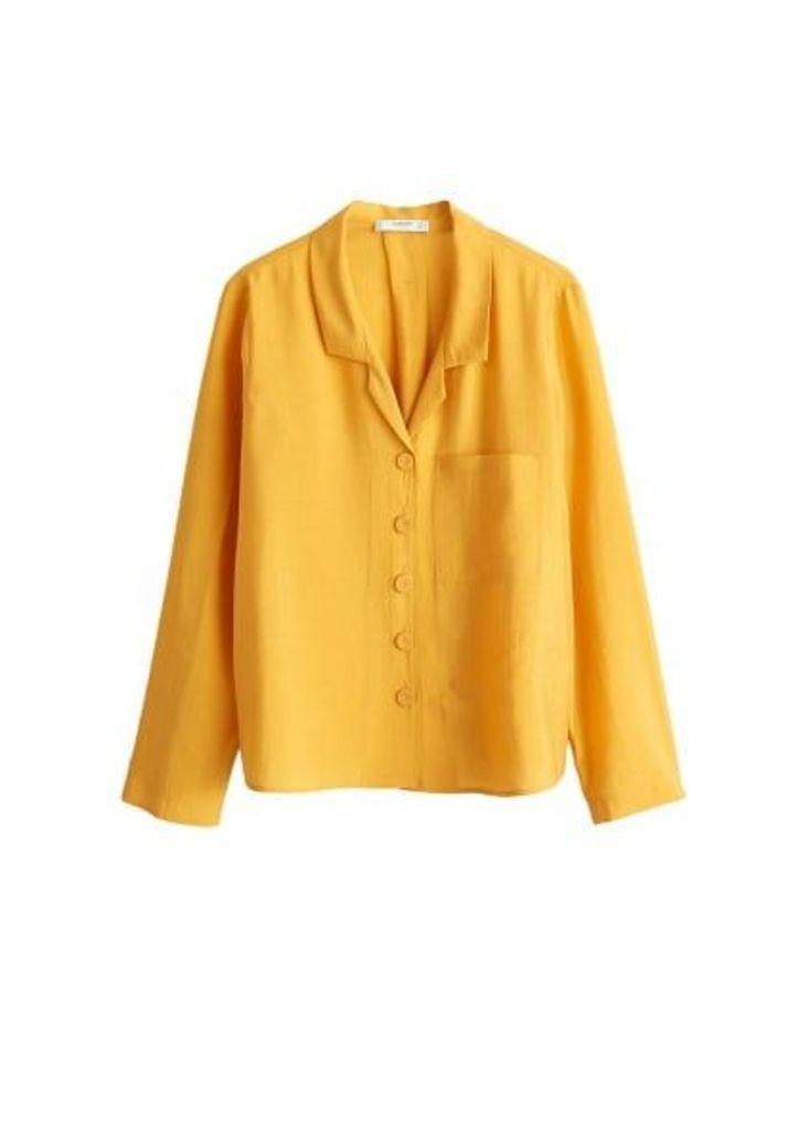 Flowy modal blouse