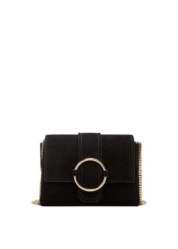 Ring leather bag