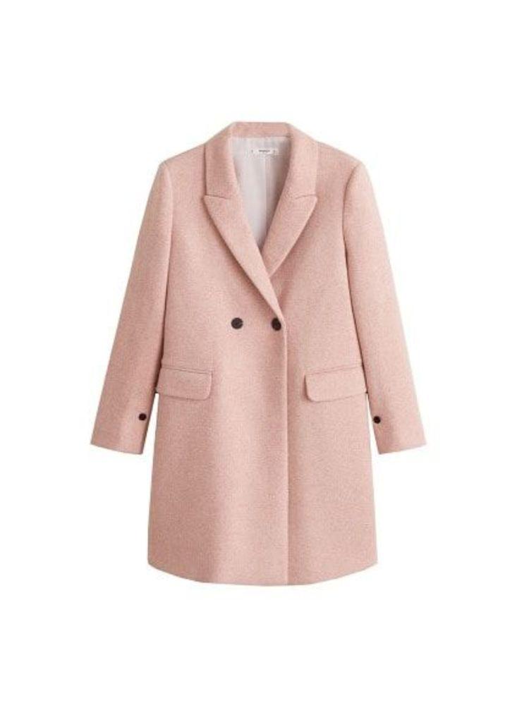 Masculine structured coat