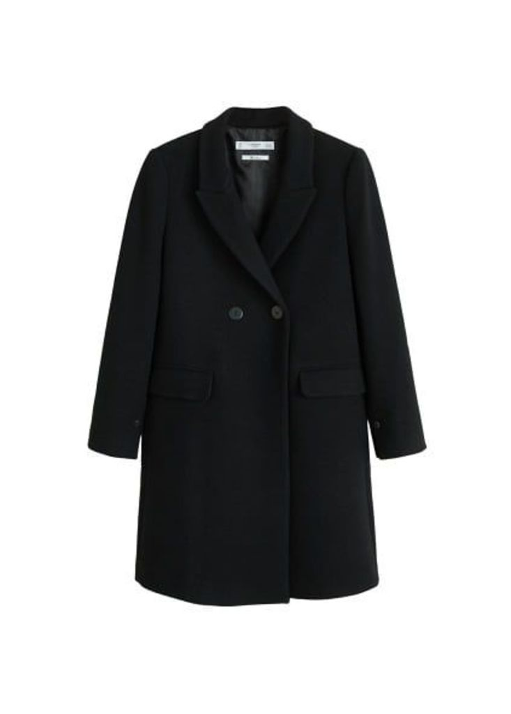 Masculine structured coat