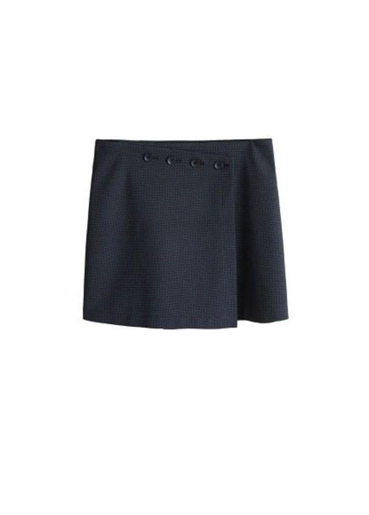 Stretch wrap skirt