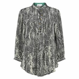 Emily Lovelock - Wool Blend Dress With Tape Tie-Up