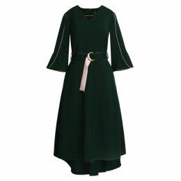 Emily Lovelock - Dress With Contrast Trim