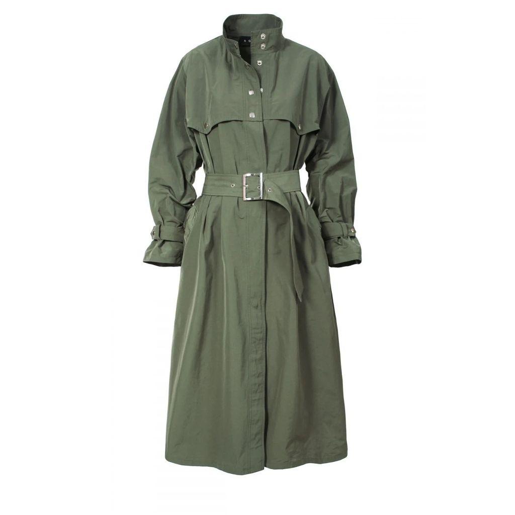 Nissa - Long Ecological Fur Coat