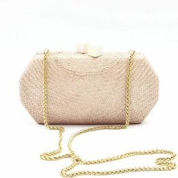 PAISIE - Knitted Dress With Contrast Edges & Waist Ties In Mustard & White