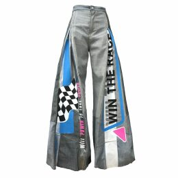 Orwell + Austen Cashmere - Love Rainbow Grey Sweater