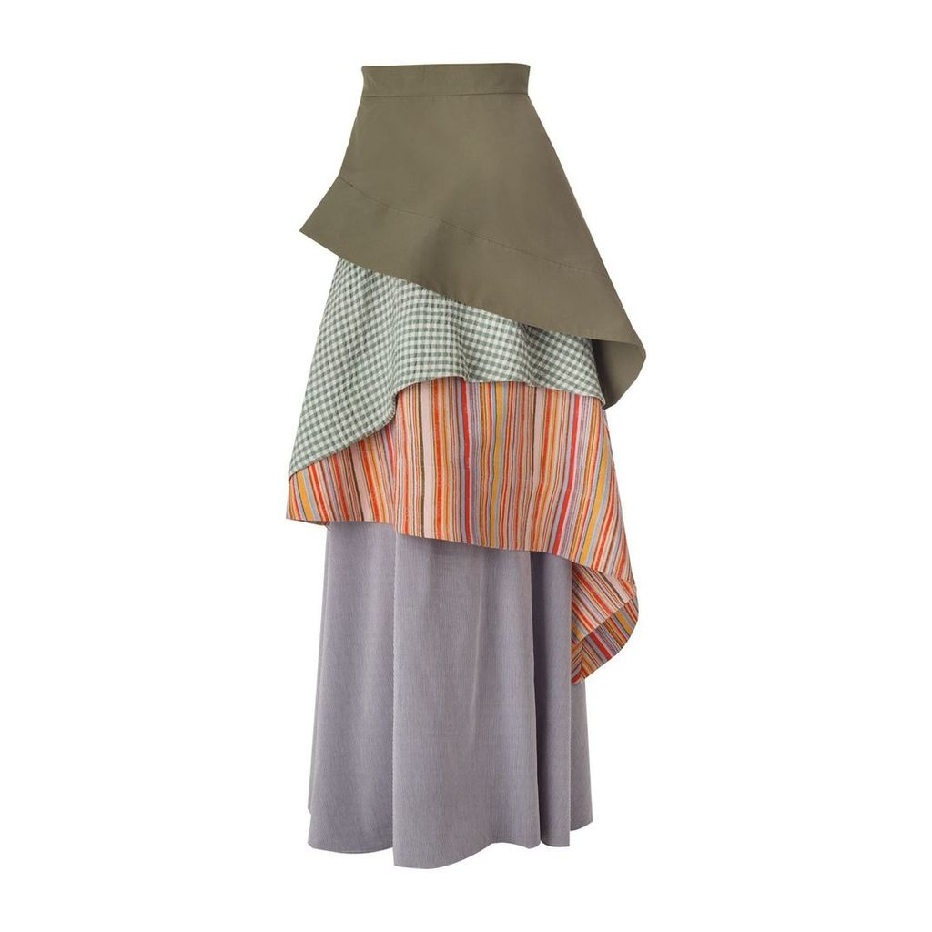 DANEH - Waterfall Skirt Stripe