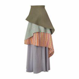 DANEH - Waterfall Skirt Stripe