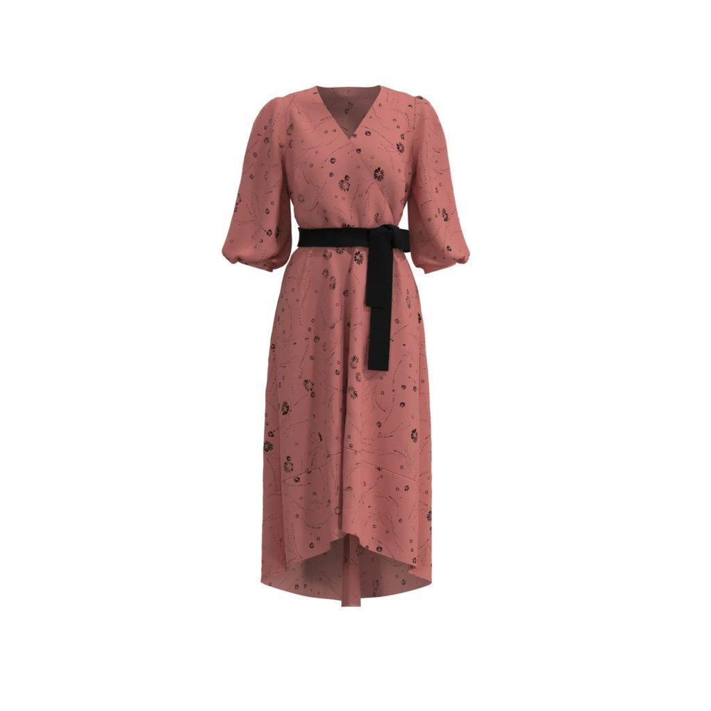 Nissa - Midi Skirt With Floral Print