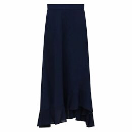 Emily Lovelock - Scale Print Lace Skirt