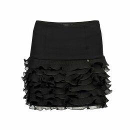 Nissa - Mini Skirt With Ruffles