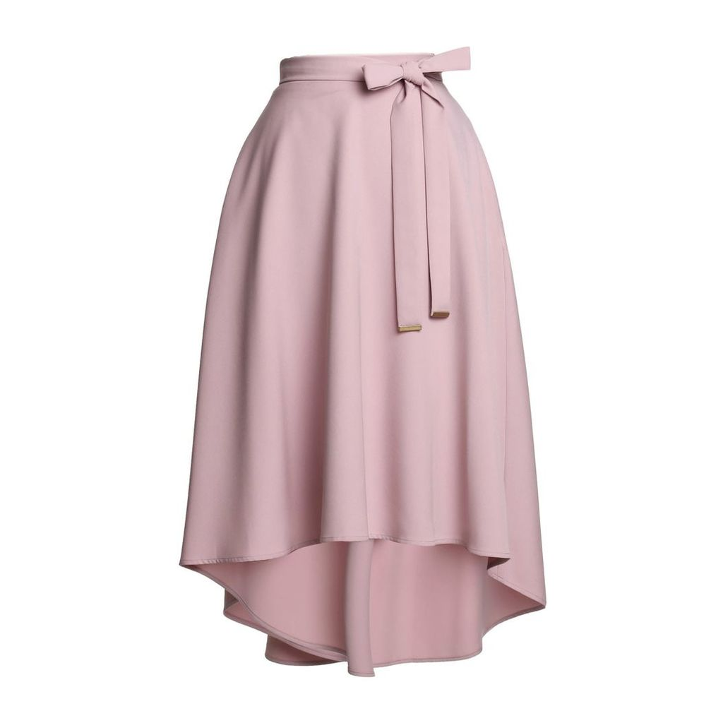 Emily Lovelock - High-Low Hem Skirt - Pink